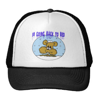 Im Going Back To Bed Trucker Hat