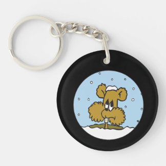Im Going Back To Bed Single-Sided Round Acrylic Keychain