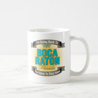 I'm Going Back To (Boca Raton) Classic White Coffee Mug