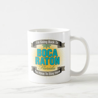 I'm Going Back To (Boca Raton) Mugs