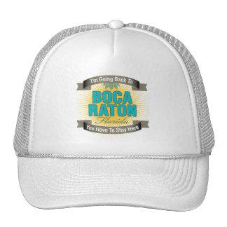 I'm Going Back To (Boca Raton) Trucker Hat