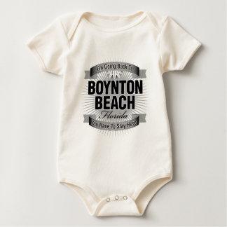 I'm Going Back To (Boynton Beach) Baby Bodysuit