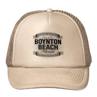 I'm Going Back To (Boynton Beach) Hat