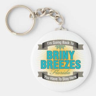 I'm Going Back To (Briny Breezes) Keychain