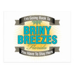I'm Going Back To (Briny Breezes) Post Cards