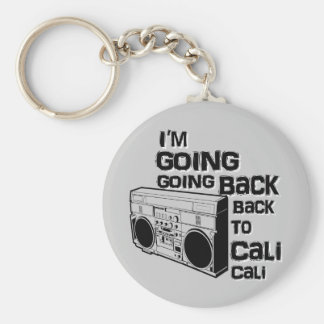 I'm Going Back To Cali-Keychain