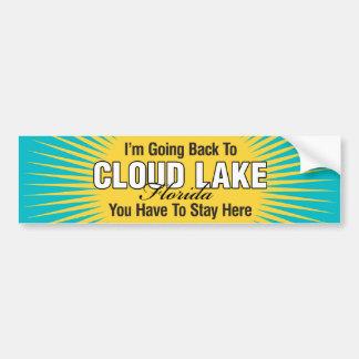 I'm Going Back To (Cloud Lake) Bumper Sticker