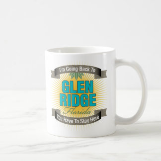 I'm Going Back To (Glen Ridge) Classic White Coffee Mug