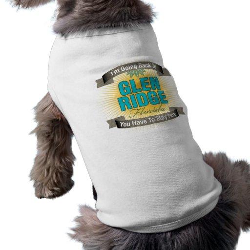 I'm Going Back To (Glen Ridge) Doggie Tee Shirt