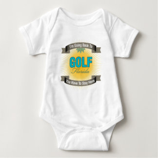 I'm Going Back To (Golf) T Shirt