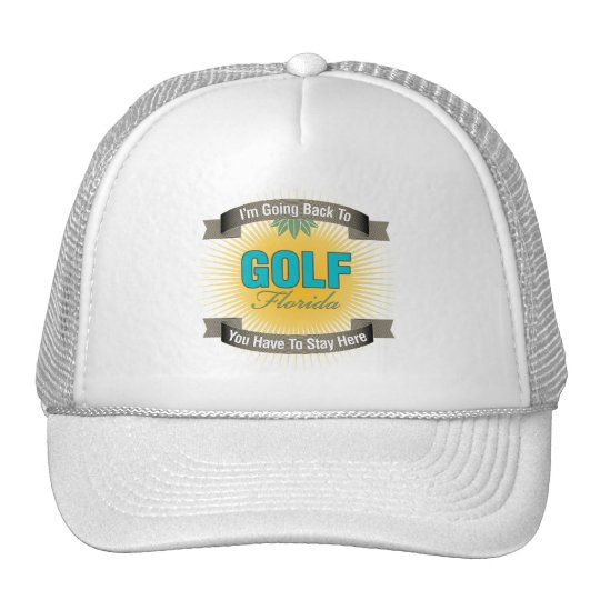 I'm Going Back To (Golf) Trucker Hat
