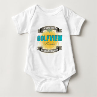 I'm Going Back To (Golfview) Baby Bodysuit