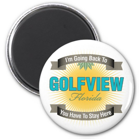 I'm Going Back To (Golfview) Magnet