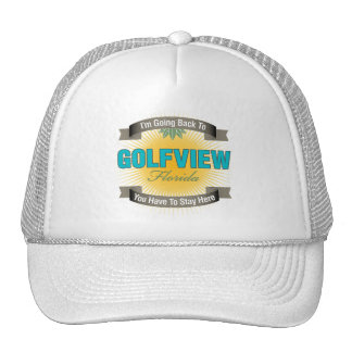 I'm Going Back To (Golfview) Trucker Hat