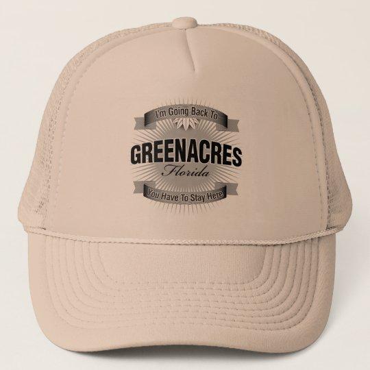 I'm Going Back To (Greenacres) Trucker Hat
