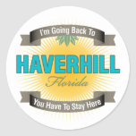 I'm Going Back To (Haverhill) Sticker