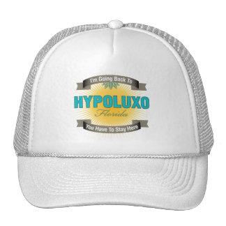 I'm Going Back To (Hypoluxo) Trucker Hat