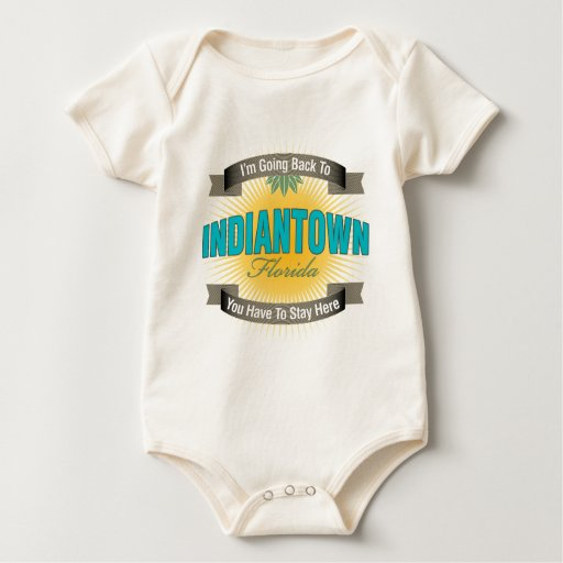 I'm Going Back To (Indiantown) Baby Bodysuit