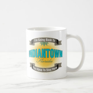 I'm Going Back To (Indiantown) Classic White Coffee Mug