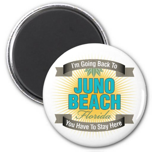 I'm Going Back To (Juno Beach) Fridge Magnets