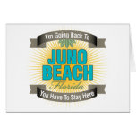 I'm Going Back To (Juno Beach) Greeting Card