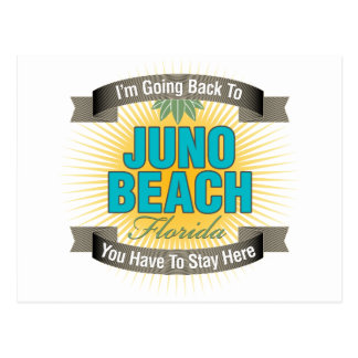 I'm Going Back To (Juno Beach) Postcard