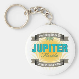 I'm Going Back To (Jupiter) Keychain