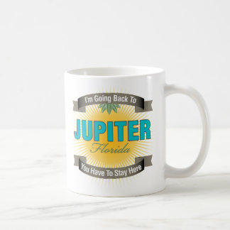 I'm Going Back To (Jupiter) Classic White Coffee Mug