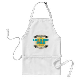 I'm Going Back To (Lake Clarke Shores) Adult Apron