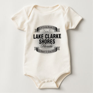 I'm Going Back To (Lake Clarke Shores) Baby Bodysuit