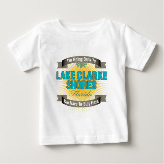 I'm Going Back To (Lake Clarke Shores) Baby T-Shirt