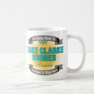 I'm Going Back To (Lake Clarke Shores) Classic White Coffee Mug