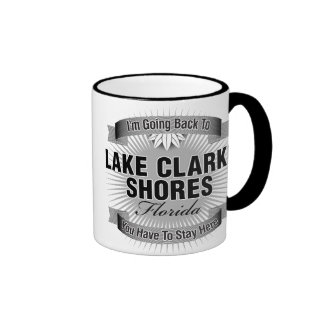 I'm Going Back To (Lake Clarke Shores) Ringer Coffee Mug