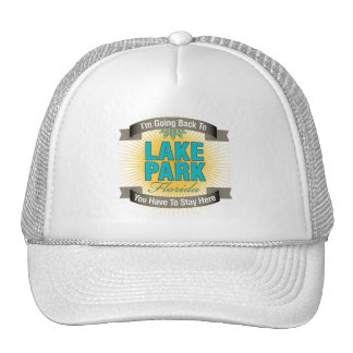 I'm Going Back To (Lake Park) Hat