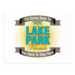 I'm Going Back To (Lake Park) Postcard