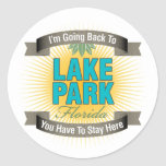 I'm Going Back To (Lake Park) Classic Round Sticker