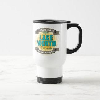 I'm Going Back To (Lake Worth) 15 Oz Stainless Steel Travel Mug