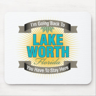 I'm Going Back To (Lake Worth) Mouse Pad