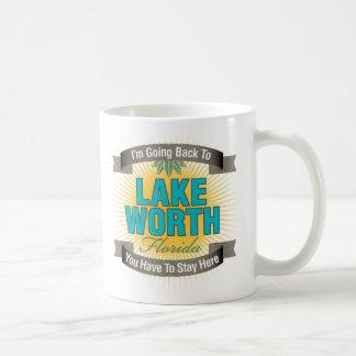 I'm Going Back To (Lake Worth) Classic White Coffee Mug