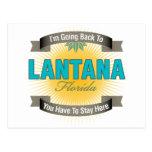 I'm Going Back To (Lantana) Postcard