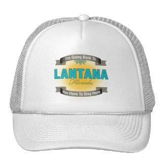 I'm Going Back To (Lantana) Trucker Hat
