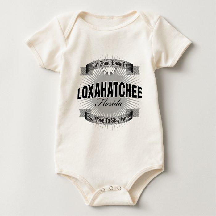 I'm Going Back To (Loxahatchee) Baby Bodysuit