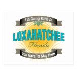 I'm Going Back To (Loxahatchee) Postcard