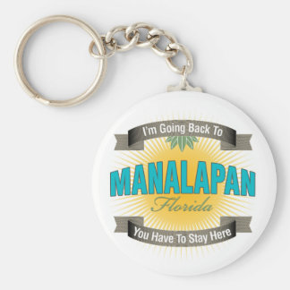 I'm Going Back To (Manalapan) Keychain