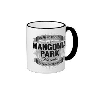 I'm Going Back To (Mangonia Park) Ringer Coffee Mug