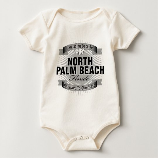 I'm Going Back To (North Palm Beach) Baby Bodysuit