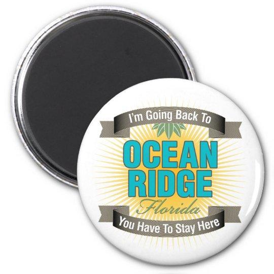 I'm Going Back To (Ocean Ridge) Magnet