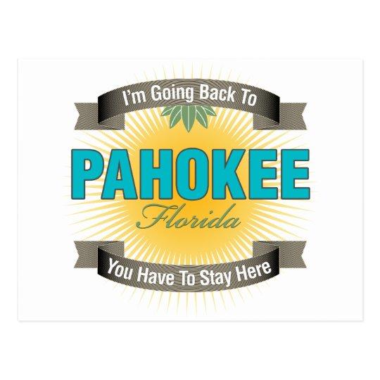 I'm Going Back To (Pahokee) Postcard