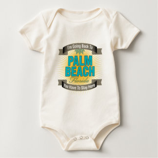 I'm Going Back To (Palm Beach) Baby Bodysuit
