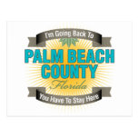 I'm Going Back To (Palm Beach County) Postcard